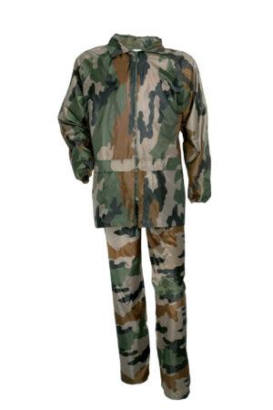 Regnställ barn kamouflage